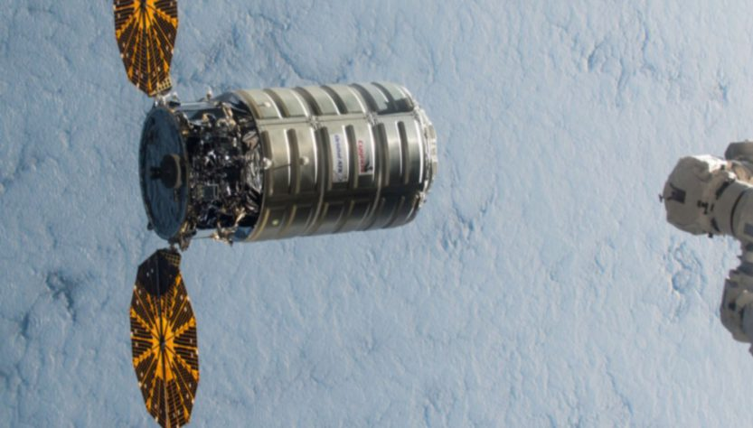 Cygnus cargo ship (Source: NASA/OrbitalATK)