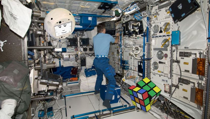 CIMON on ISS (Source: Airbus)