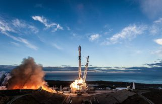 Iridium 8 launch (Source: SpaceX)