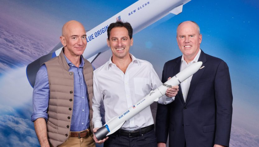 Telesat selects New Glenn (Source: Blue Origin)