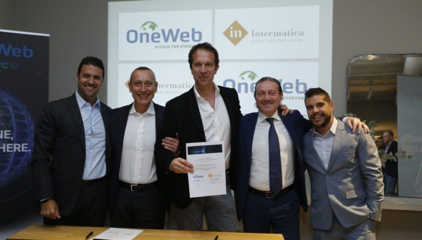 OneWeb signs distribution agreements (Source: OneWeb Twitter)