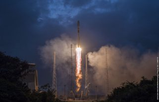 Launch of first OneWeb satellites (Source: OneWeb)