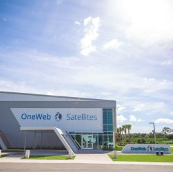 Outside OneWeb Satellites factory (Source: OneWeb Satellites)