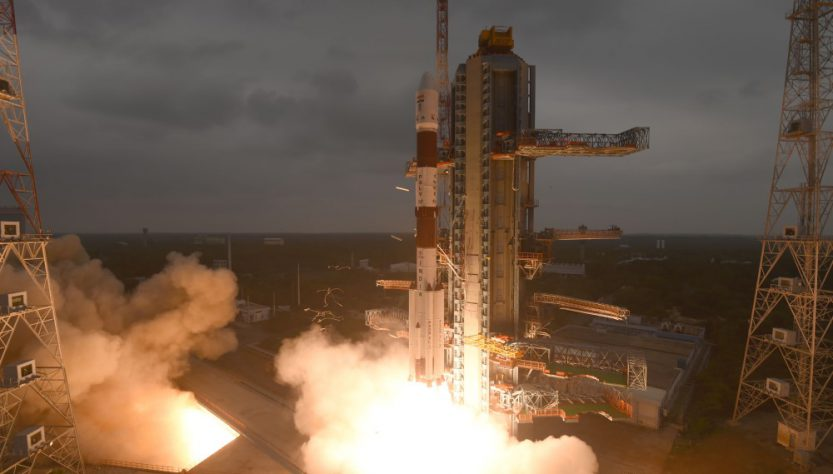 PSLV-C47 mission launch (Source: ISRO)