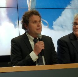 Rocket Lab CEO Peter Beck at LC-2 opening