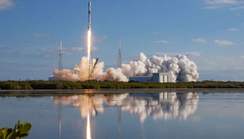 SpaceX Starlink launch on January 29, 2020 (Source: SpaceX Flickr)