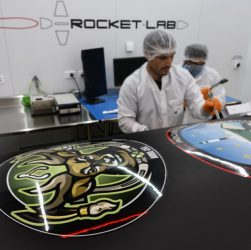 "Rocket Lab January 31 ""Birds of a Feather"" launch (Source: Rocket Lab)"