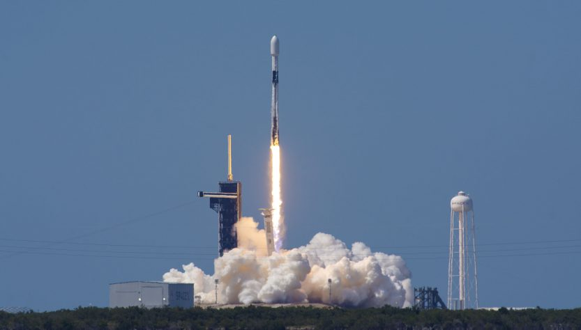 Seventh SpaceX Starlink launch (Source: SpaceX Twitter)