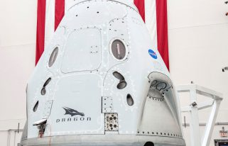 SpaceX Demo-2 Crew Capsule (Source: SpaceX)