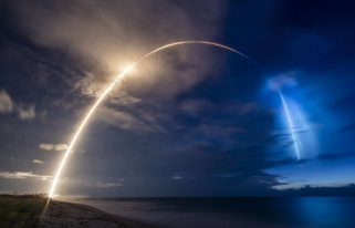 SpaceX Starlink June 13 launch (Source: SpaceX Flickr)