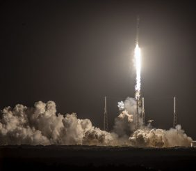 SpaceX Starlink launch February 15, 2020 (Source: SpaceX/Flickr)
