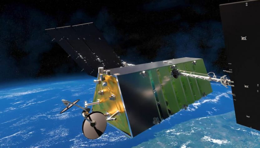 Rendering of Telesat Lightspeed satellite (Source: Telesat)