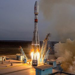 April 25 OneWeb mission (Source: Roscosmos/OneWeb)